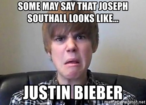 Justin Bieber 213 - some may say that joseph southall looks like... justin bieber