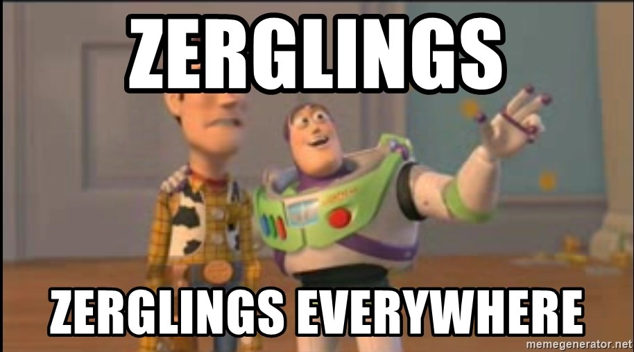 X, X Everywhere  - Zerglings Zerglings everywhere