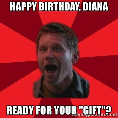 "Lucifer Supernatural - Happy Birthday, Diana Ready for your ""gift""?"