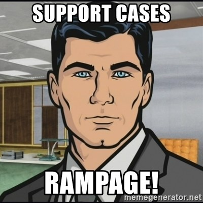 Archer - SUPPORT CASES RAMPAGE!