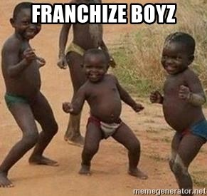african children dancing - franchize boyz