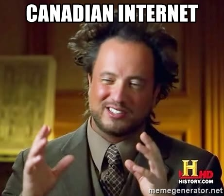 Ancient Aliens - Canadian internet