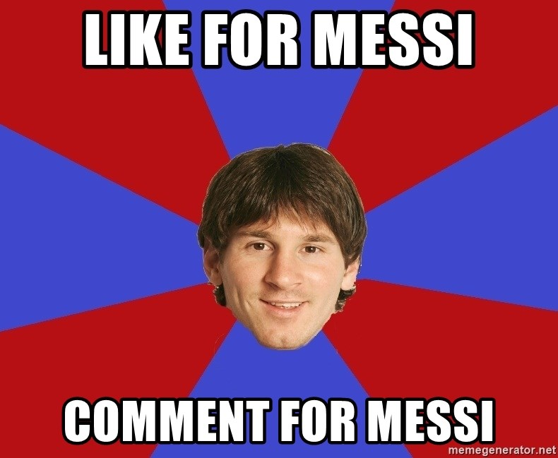 Messiya - LIKE FOR MESSI COMMENT FOR MESSI