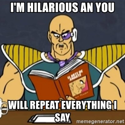 El Arte de Amarte por Nappa - I'M HILARIOUS AN YOU WILL REPEAT EVERYTHING I SAY