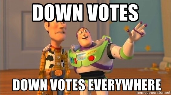 Woody & Buzz... Everywhere - down votes  down votes everywhere