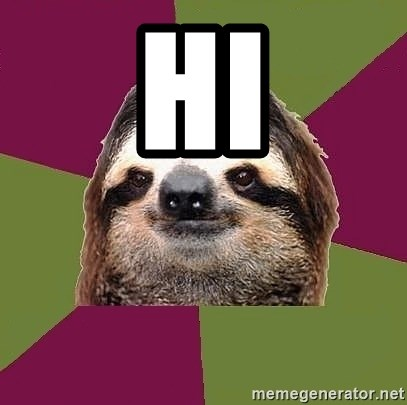 Just-Lazy-Sloth - HI