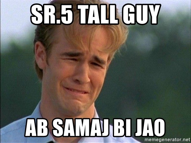Crying Man - SR.5 TALL GUY AB SAMAJ BI JAO