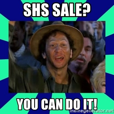 You can do it! - SHS Sale? you can do it!
