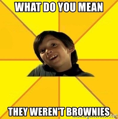 es bakans - what do you mean they weren't brownies