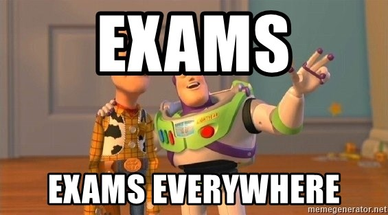 Consequences Toy Story - exams exams everywhere
