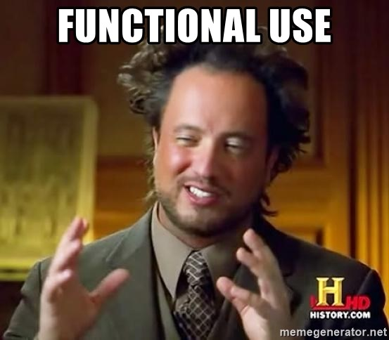 Ancient Aliens - functional use