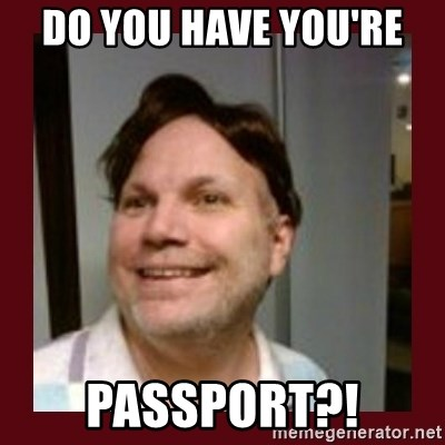 Free Speech Whatley - DO YOU HAVE YOU'RE  PASSPORT?!