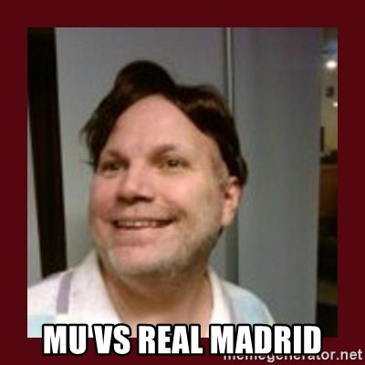 Free Speech Whatley -  MU VS REAL MADRID