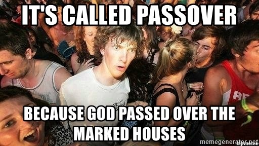 -Sudden Clarity Clarence - It's called passover Because God Passed Over The Marked Houses