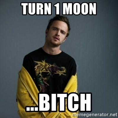 Jesse Pinkman - Turn 1 Moon ...Bitch