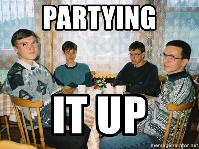Party Hard - Partying it up