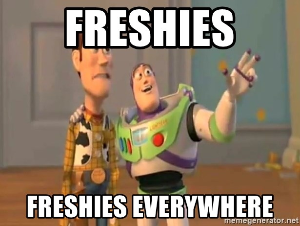 X, X Everywhere  - FRESHIES FRESHIES EVERYWHERE