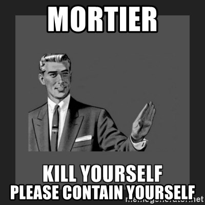 kill yourself guy - Mortier please contain yourself