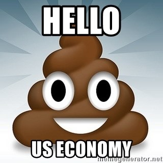 Facebook :poop: emoticon - hello us economy