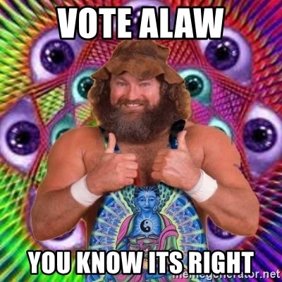 PSYLOL - VOTE ALAW YOU KNOW ITS RIGHT