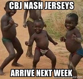 african children dancing - CBJ NAsh Jerseys  Arrive Next Week