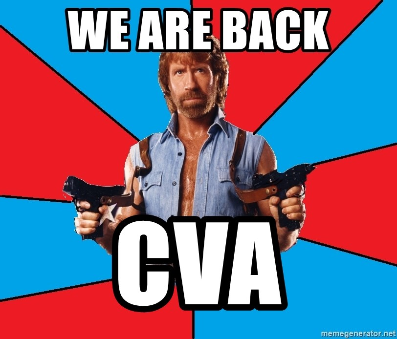 Chuck Norris  - WE ARE BACK  CVA