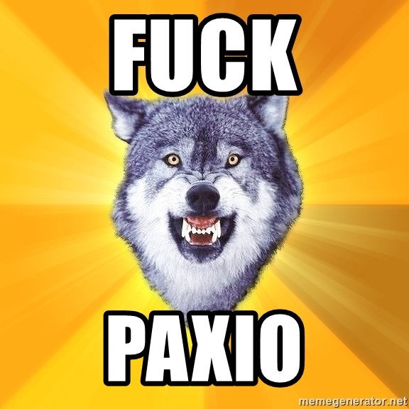 Courage Wolf - FUCK PAXIO