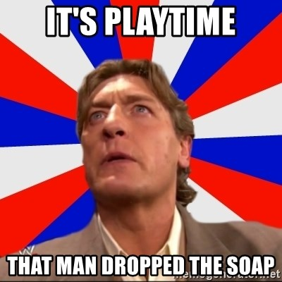 Regal Remembers - it's playtime that man dropped the soap