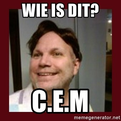 Free Speech Whatley - WIE IS DIT? C.E.M