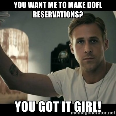 ryan gosling hey girl - You want me to make DOFL reservations? You got it GIrl!