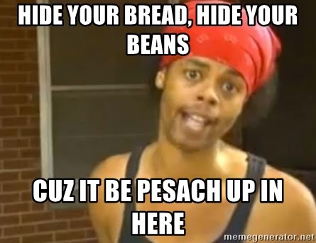 Antoine Dodson - Hide your bread, hide your beans cuz it be pesach up in here