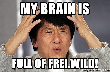 Jackie Chan - MY BRAIN IS FULL OF FREI.WILD!