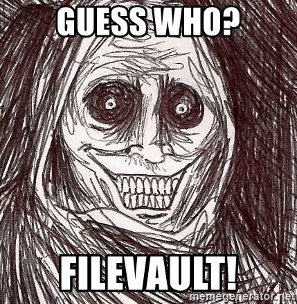 Boogeyman - guess who? Filevault!