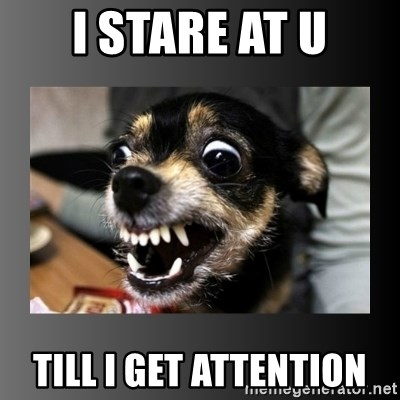 jimmywtf - I STARE AT U TILL I GET ATTENTION