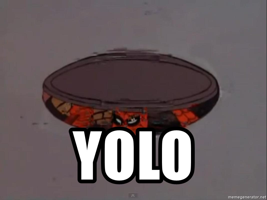 Spiderman in Sewer -  YOLO