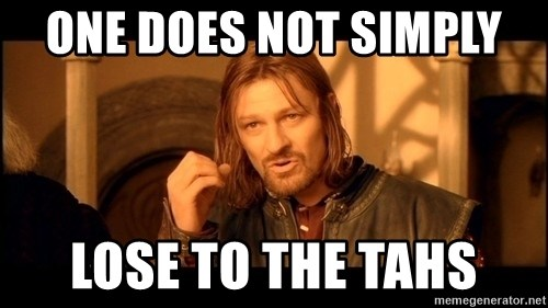 Lord Of The Rings Boromir One Does Not Simply Mordor - one does not simply  lose to the tahs