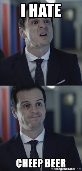 Misleading Moriarty - i hate cheep beer