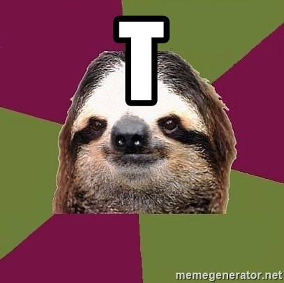 Just-Lazy-Sloth - T