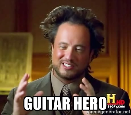 Ancient Aliens -  Guitar Hero