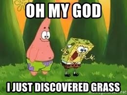 Ugly and i'm proud! - OH MY GOD I just discovered grass