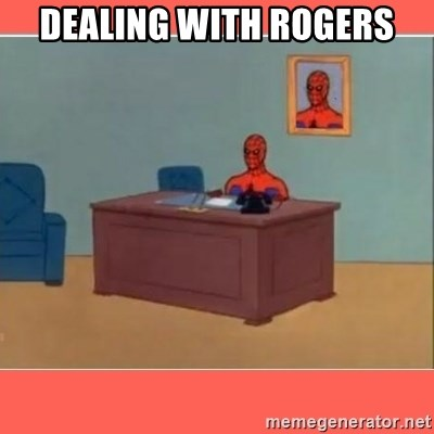 Masturbating Spider-Man - dealing with rogers