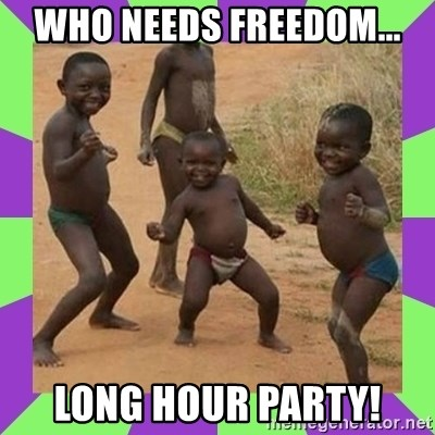 african kids dancing - WHO NEEDS FREEDOM... LONG HOUR PARTY!