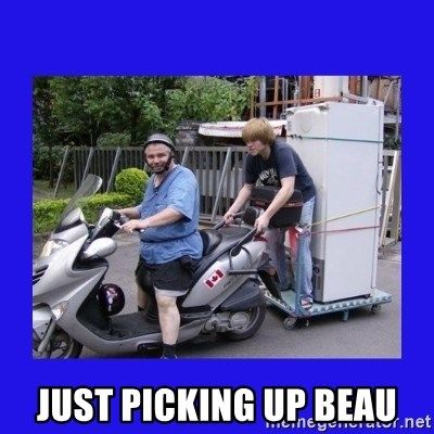 Motorfezzie -  JUST PICKING UP BEAU