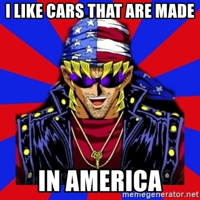 bandit keith - I LIKE CARS THAT ARE MADE IN AMERICA