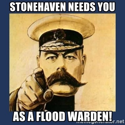 your country needs you - STONEHAVEN NEEDS YOU AS A FLOOD WARDEN!