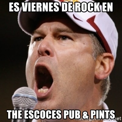 Pauw Whoads - ES VIERNES DE ROCK EN THE ESCOCES PUB & PINTS