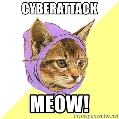 Hipster Kitty - Cyberattack Meow!