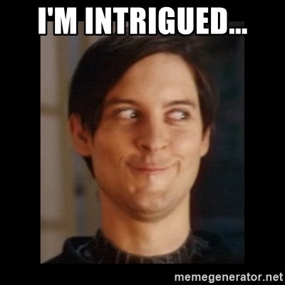 Toby Maguire trollface - I'm intrigued...