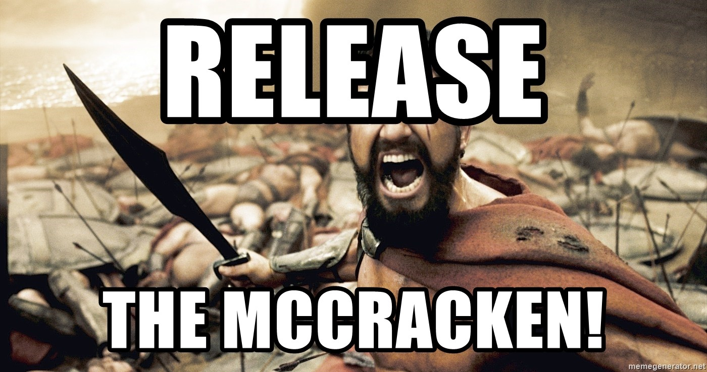 Spartan300 - Release the mccracken!