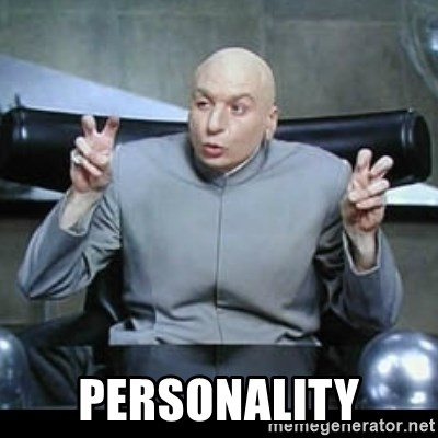 dr. evil quotation marks -  Personality